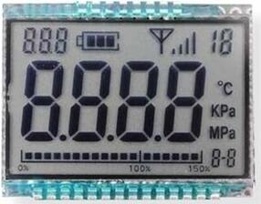 22PIN 4-Digits Segment LCD Panel No Backlight