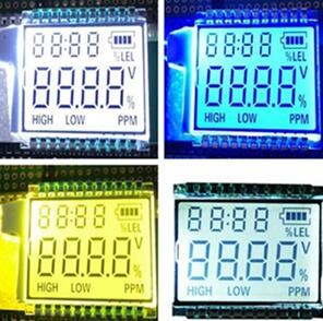 22PIN TN 4-Digits Segment LCD Panel Backlight