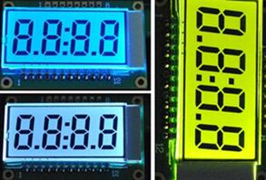4-Digits Segment LCD Panel Module Backlight 5.0V