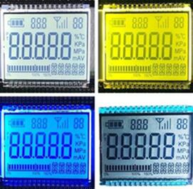 32PIN HTN Positive 5-Digits Segment LCD Backlight