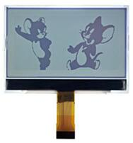24P COG FSTN 256128 LCD Panel ST75256 Backlight