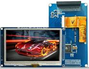 4.3 inch 34P LCD Resistive Touch Module SSD1963
