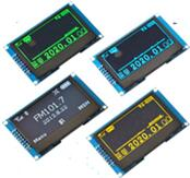Arduino 2.42 inch 16P SPI OLED SSD1309 Parallel